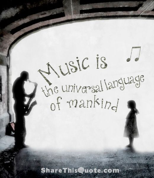 Music is the universal language of mankind.  - Henry Wadsworth Longfellow  #Music #Quotes #ShareThisQuote