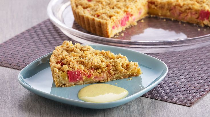 Bake With Anna Olson: Recipes: Rhubarb Crumble Tart | Asian Food Channel