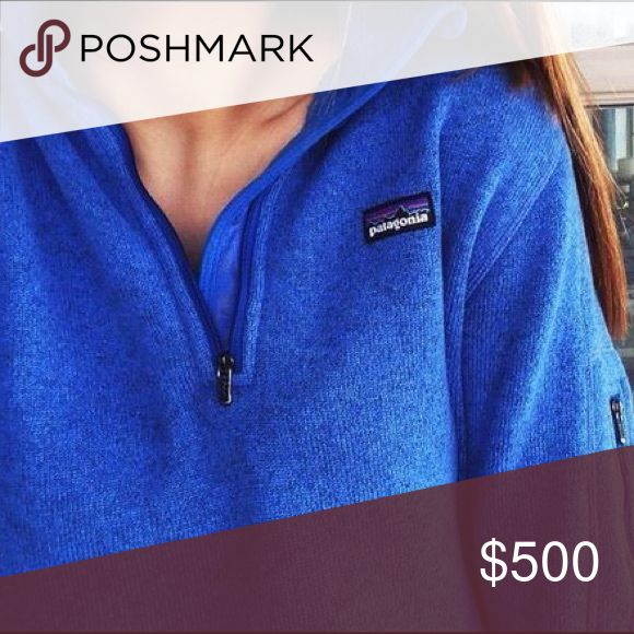 ISO this royal blue Patagonia better sweater I would love to buy this color better sweater in a size medium!! Please message me if you have one or know of one for sale💙 Patagonia Sweaters