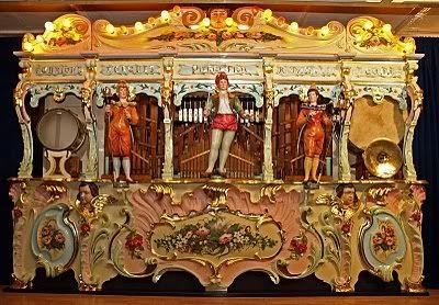 89 key G4 Pierre Eich Fairground Organ