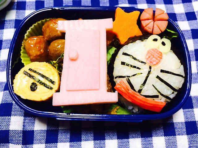 簡単キャラ弁♩ドラえもん弁当〜☆の画像