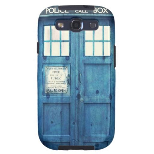 Vintage Police phone Public Call Box Samsung Galaxy S3 Cover : Police ...