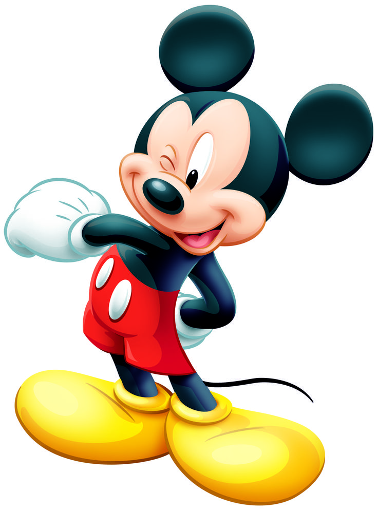 Stickers Géant Mickey Mouse Typographique Disney | Sticker sur Bébégavroche