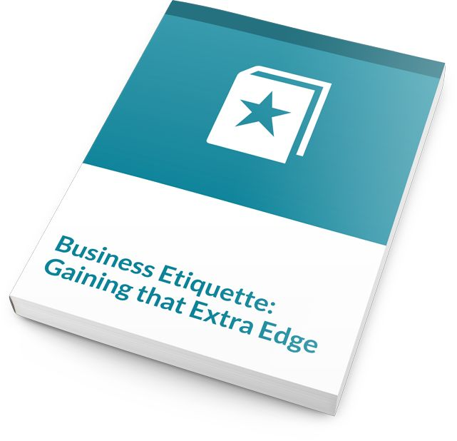 This training course includes sessions on networking, introductions and remembering names, what to wear, confident communications, etiquette at meal time, and much more. Taking this training course really does give your students what they need for Gaining that Extra Edge.  #businessetiquette #training #courseware