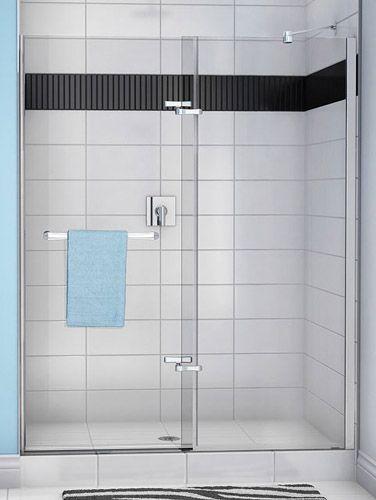 porte de douche reveal porte de douche pivotante sans cadre reveal verre tremp clair de 8. Black Bedroom Furniture Sets. Home Design Ideas