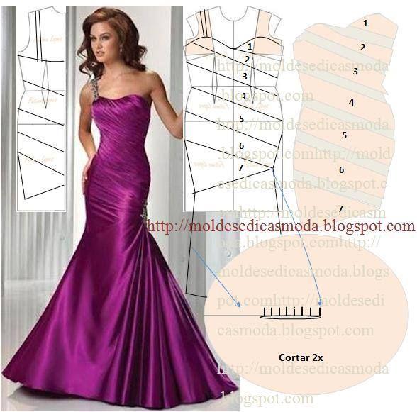 vestido drapeado-vma.                                                       …