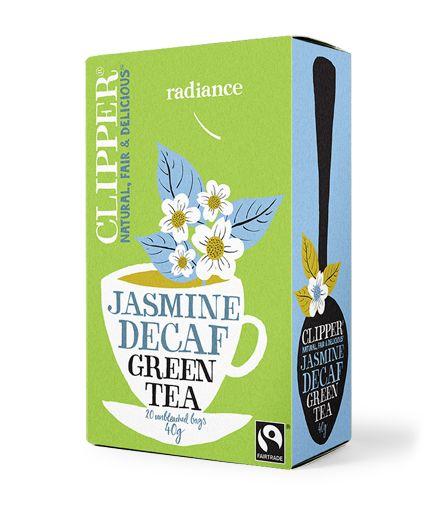 //Amelia Liana// Decaf Green Tea with Jasmine   Clipper Teas