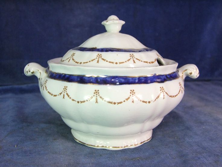 Vintage Booths China Table Serving Tureen c.1900  6441