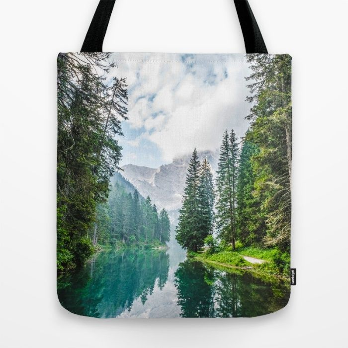 The Place To Be Tote Bag by Mixed Imagery | Society6