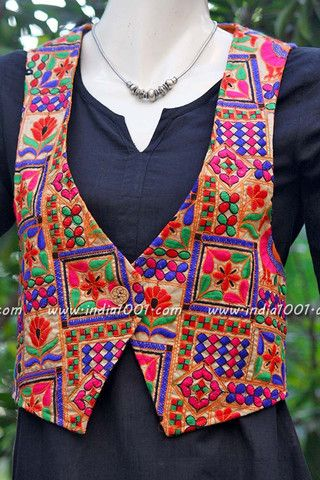 Designer Embroidered Jacket