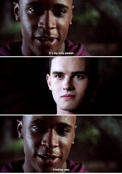 Teen Wolf 6x07 awww Corey and   Mason