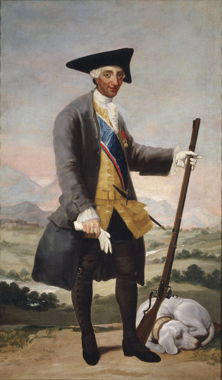 Charles III in Hunting Dress, c.1786, by Francisco de Goya y Lucientes (1746-1828)
