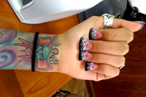 judge me if you want, but I think the duck feet nails are kinda cool!