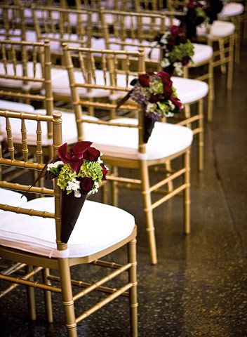 Real Weddings: An Artistic Fall Wedding