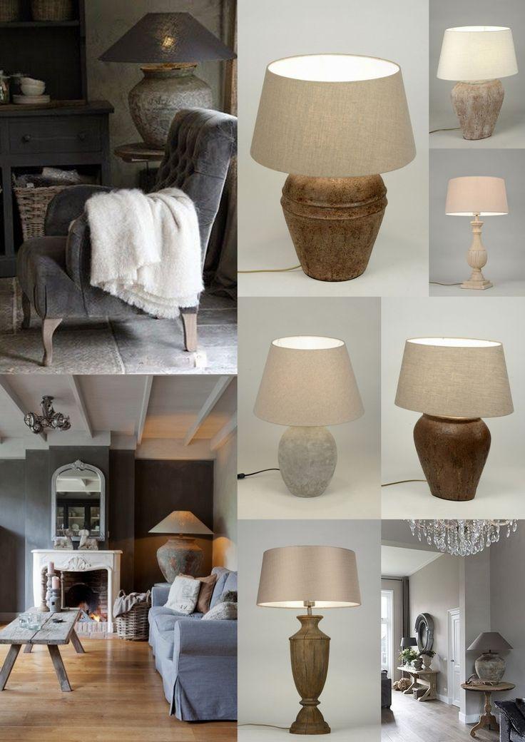 Maak je landelijke interieur mooi af met de landelijke tafellampen van Rietveld Licht & Wonen.