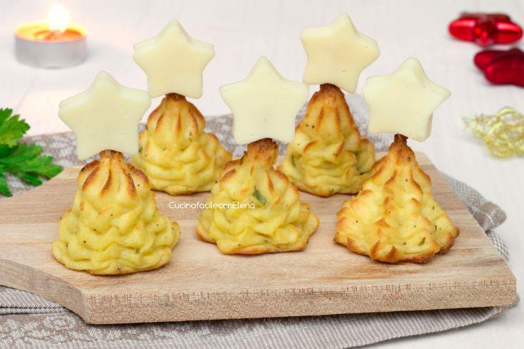 Gli alberelli di patate sono dei deliziosi antipastini perfetti da preparare per le festività natalizie, molto facili e veloci da fare, saranno un successo!