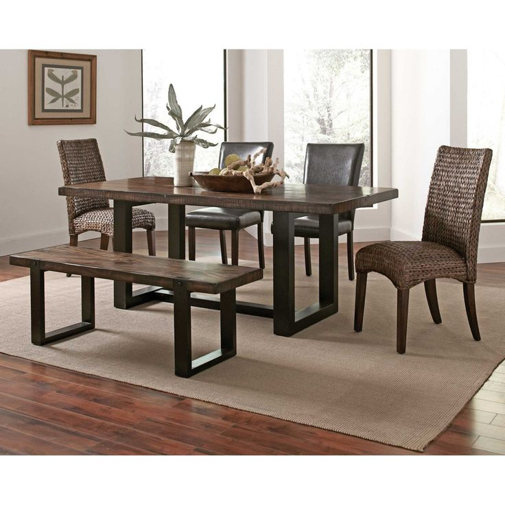 Coaster Furniture Coaster Westbrook 6 Piece Dining Table Set - COA3233