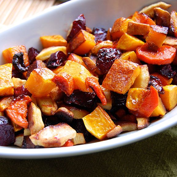 Maple-Glazed Root Vegetables | Recipe | Kid, Recipes with butternut ...