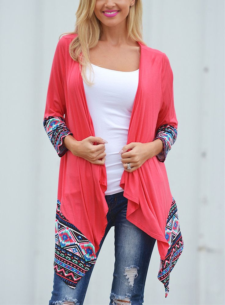 Cheap long shirt, Buy Quality floral print directly from China shirt shirt  Suppliers: Europe Autumn New Floral Printing Long Sleeved Cardigan  Irregular ...