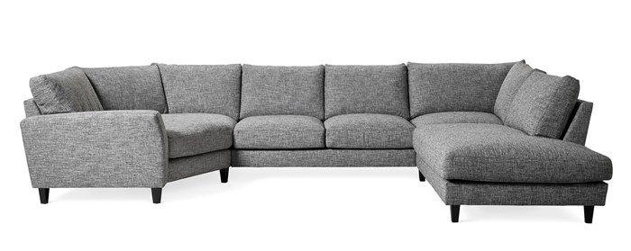Produktbild - Hudson, 2-sits soffa med cosy hörn och divan