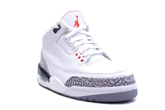Air Jordan 3 Retro White / Cement Grey