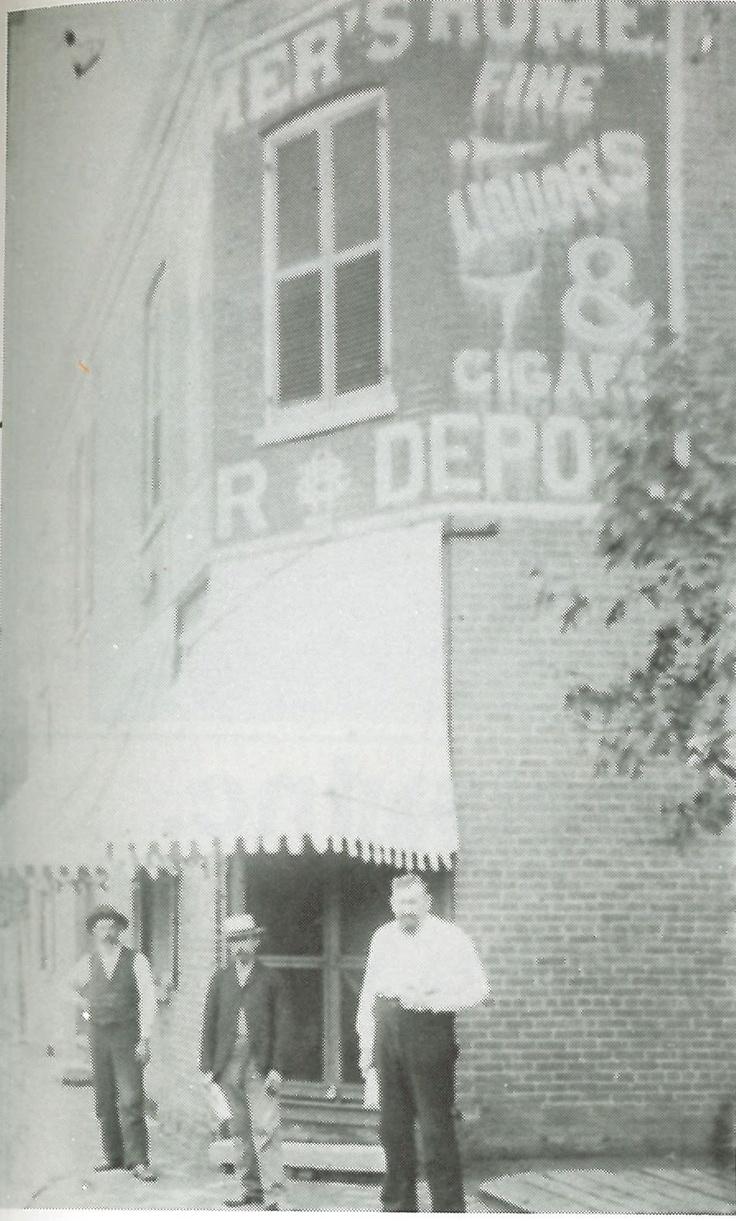 Illinois effingham county teutopolis - Sesquicentennial Of Effingham County 1831 1981 P 741 Farmers Home Saloon