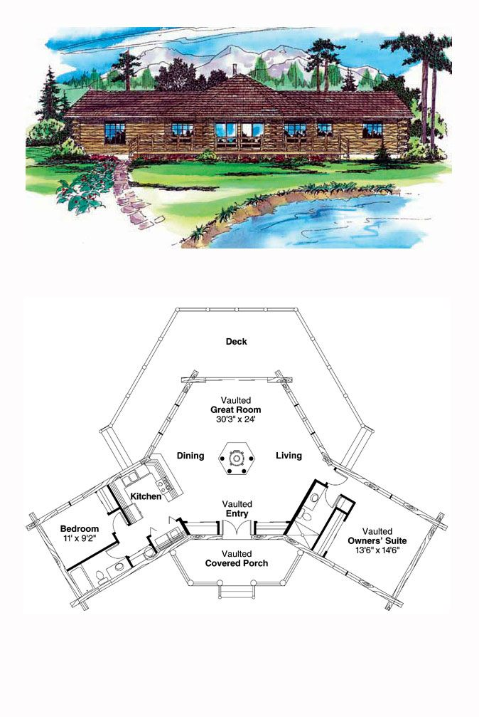 16 best octagon style house plans images on pinterest | cool house
