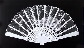 Photogram of a fan
