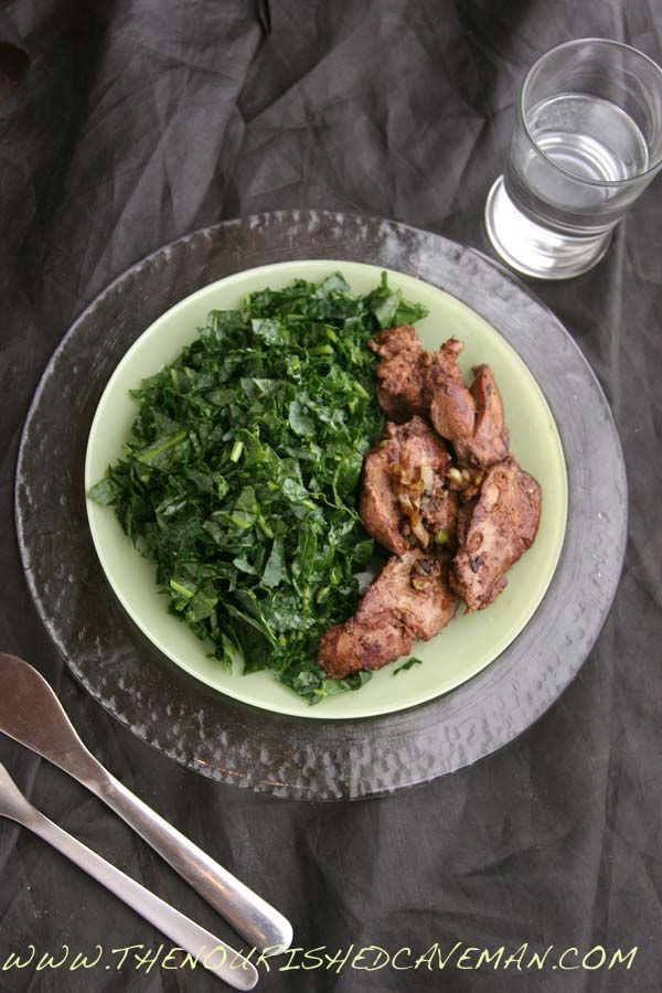 Sauteed Chicken Liver Recipe for Ketogenic Diet Week Meal Plan- Tuesday day 3   The Nourished Caveman