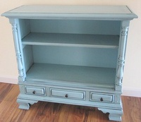 Upcycled Old TV Console