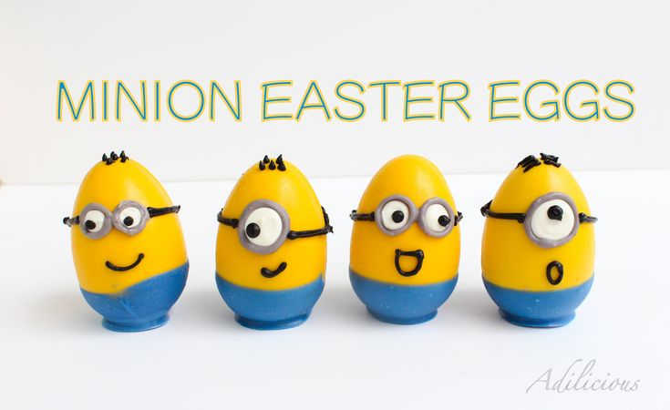 This Easter make those eggs look super adorable. These easy to make Minion Easter eggs are very easy yet very very cute and they do have a surprise inside. P...