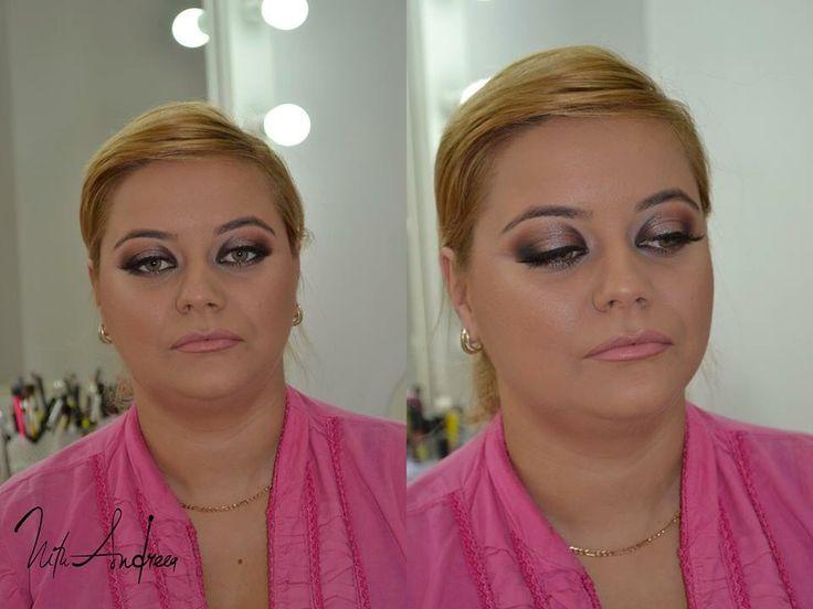 Makeup by Andreea Nitu ( find on facebook - Andreea Nitu makeup studio )