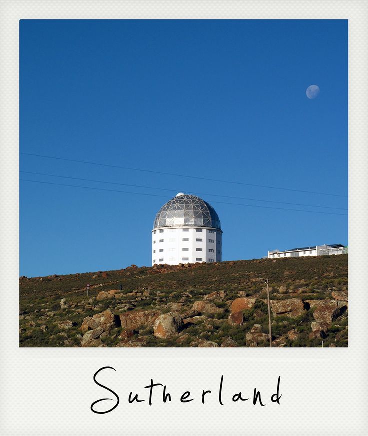 Sutherland, Northern Cape, South Africa, best place to observe the galaxy.
