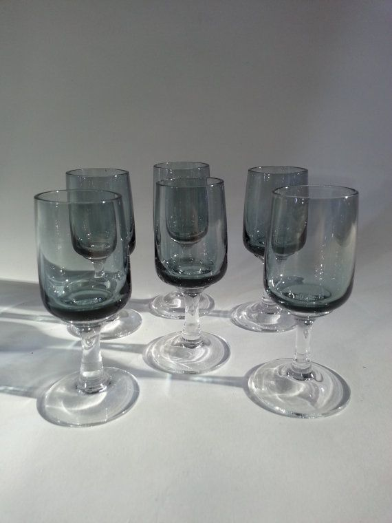 Scandinavian Shot Glasses Atlantic.. Made by Holmegaard.. Designed by Per Lutken, €52.50