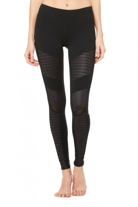 @wantable, I want a pair of these in every color!! Women's Moto Leggings | ALO Yoga | ALO Yoga