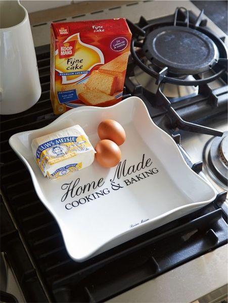 Naczynie Cooking&Making Sqarem M. Upiecz najsmaczniejsze ciasto lub zapiekanki w stylowym żaroodpornym naczyniu ceramicznym.