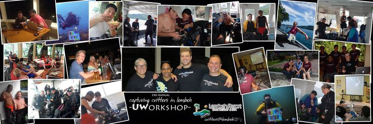 The 3rd #CapturingCrittersInLembeh Underwater workshop has been great. All the participants and presenters have had fun with the seminars, one-on-one sessions and diving.  #diving #lembeh #underwaterphotography