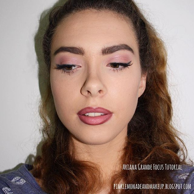 NEW BLOG POST - Ariana Grande 'Focus' makeup tutorial! @ pinlemonadeandmakeup.blogspot.com (link in bio). I hope you guys like it!  #makeup #beauty #makeuptutorial #motd #arianagrande #arianagrandefocus #arianagrandetutorial #arianagrandemakeup #arianagrandemakeuptutorial #focus #fotd #blog #blogger #beautyblogger #bblogger #beautybloggerau #bbloggerau #lips #lipstick #lipliner #pinklips #berrylips #linedlips #pink #pinkeyeshadow #blueeyeliner #instabeauty #instamakeup #instabeautyau