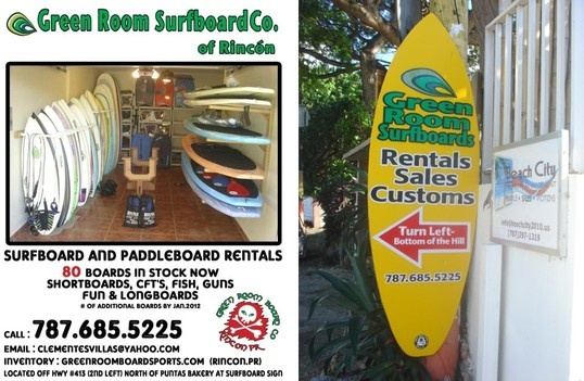 THIS IS HAPPENING>   greenroom rincon, surf rentals