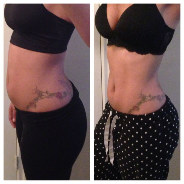 What a Difference a Day Makes: This may be hard to believe, but these photos were taken 24 hours apart. I often receive questions about eradicate belly bloat or how I keep my stomach so flat. Many of my readers guess that I work out often and for hours at a time, but I certainly do not