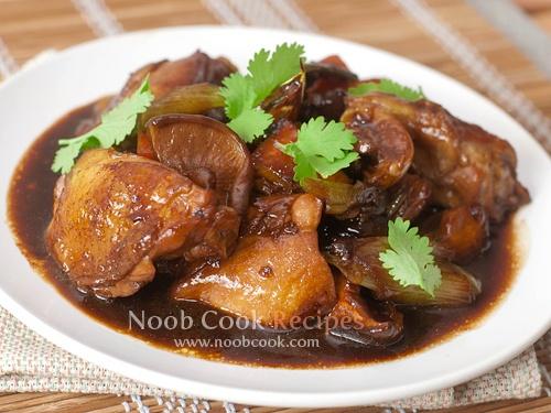 Braised Chicken with mushroom | I eat/drink | Pinterest