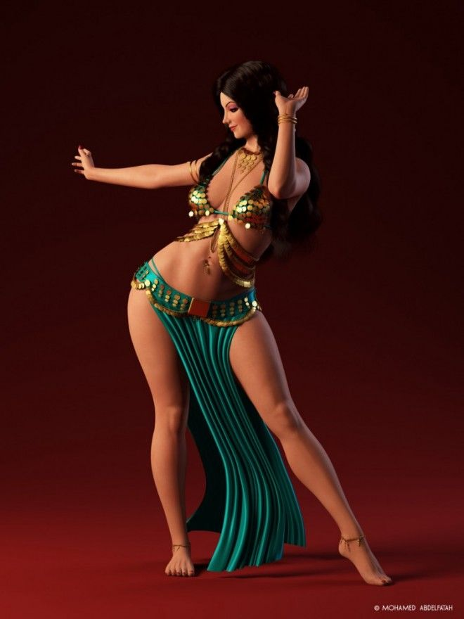 She's fucking belly dancer slut awesome! put