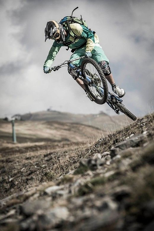 MTB  Rider: Hannes Klausner  Photo Credit: Daniel Geiger