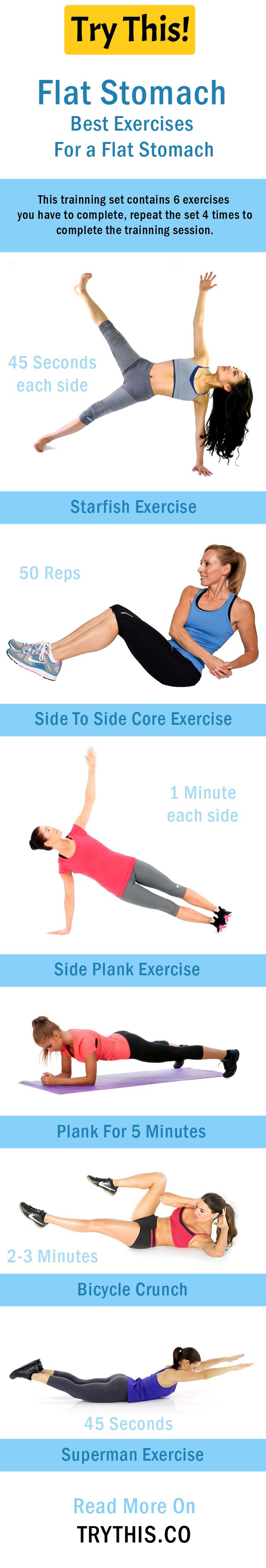 Flat Stomach: Best Exercises For a Flat Stomach