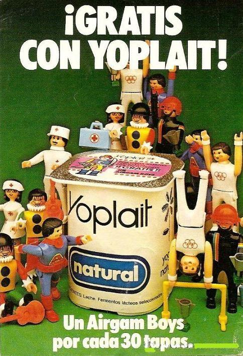 Competencia desleal, nadie podía resistirse al regalo del AirgamBoys. Yo yo yogurt yo yo yoplait