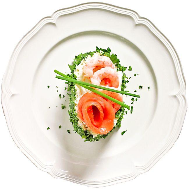 Liten sandwichbakelse med laxros | Recept.nu