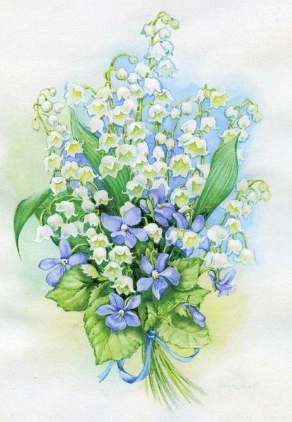 Gallery.ru / Фото #7 - Акварельные цветы Ольги Дроздовой - Mislana