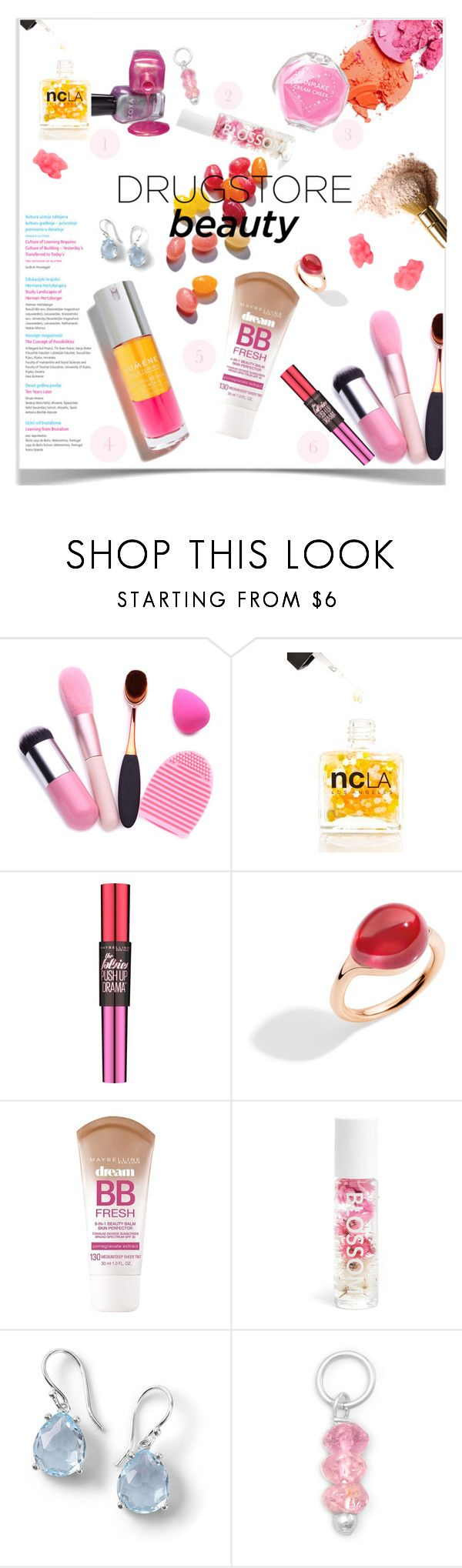 """Untitled #163"" by craftsperson ❤ liked on Polyvore featuring beauty, Oris, ncLA, Maybelline, Pomellato, Blossom, Ippolita and drugstorebeauty"