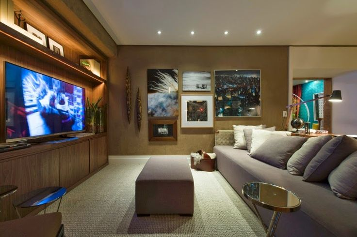Decoracao De Sala Home Theater