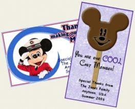 Cast Member Appreciation Cards